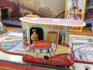 Blechspielzeugbahn_Spielzeugmuseum im Mühlenkreis_Voss